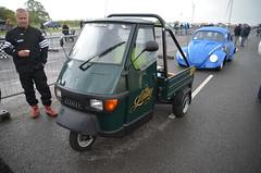 (Sam Tait) Tags: santa pod raceway england drag racing race track doorslammers piaggio ape 50 vespa