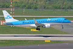 PH-EXK (Dutch Civil Aircraft Photography) Tags: klm klmcityhopper embraer embraer175 dus