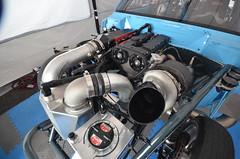 (Sam Tait) Tags: santa pod raceway england drag racing race track doorslammers fraudster mk1 escort vauxhall ford turbo