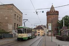 Brandenburg an der Havel - 29-04-2019 (Mat'97) Tags: tram tramway tramvaj tramwaj tramcar trams transport public tramlijn brandenburg an der havel jacobstrasse linien 6 strassenbahn