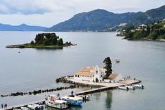 Mouse Island. (john a d willis) Tags: greece corfu mouseisland pontikonisi panagiavlacherma byzantinechapel pantokrator