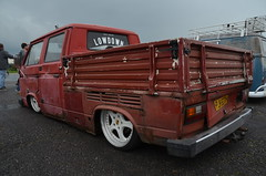 (Sam Tait) Tags: santa pod raceway england drag racing race track doorslammers vw volkswagen pick up wedge t25