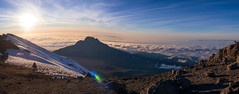 View from Stella point, 5756m, Kilimanjaro NP, Tanzania (Amdelsur) Tags: parcdukilimandjaro continentsetpays tanzanie afrique africa kilimanjaronationalpark tz tza tanzania kilimandjaro world trekker