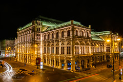 Vienna State Opera House (figatz) Tags: vienna wien austria long exposure tokina nikon night travel trail lights opera house images tourism photography beautiful europe
