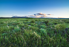 Spanish Peaks Spring Sunset (Tom Herlyck) Tags: amazing abandoned america awesome a7rii adobe air beautiful bigsky blue colorado clouds camera decaying digital easterncolorado exposure evening flickr field goldenlight grass green highplains huajatolla huerfanocounty idyllic image jazzed joyful light landscape lightroom mountains natural outdoors outside spanishpeaks sky sunset southeastcolorado southeasterncolorado southerncolorado spring usa wahatoya