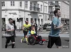 Copenhagen Marathon (cowgirl_dk) Tags: københavn copenhagen marathon maraton runners løbere norrebro nørrebro streetlife gadeliv danmark denmark olympus olympusomdem5mrkii lumixgvario14140mm udendørs outdoor by city byliv citylife sport teamtvilling