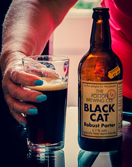 Black Cat Robust Porter from the Potton Brewery) (Cross Process Effect) (Olympus OM-D EM1.2 & M.Zuiko 12-100mm f4 Pro Zoom) (1 of 1) (markdbaynham) Tags: beer birra cerveza craftbeer ale realale bottle blackcat porter darkbeer 12100mm 12100mmf4 zoomlens prozoom olympusmft olympusomd omd olympuspro olympusprolens em1 em12 em1ii em1mk2 em1mark2 mirrorless micro43 microfourthird microfourthirds mirrorlesscamera pottonbrewery mzd zd mzuiko zuikolic zuikozoom m43 m43rd