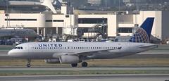 Airbus A-320 N425UA (707-348C) Tags: losangeles thehill klax passenger airliner jetliner airbus airbusa320 a320 unitedairlines california ual united lax n425ua ca usa 2019