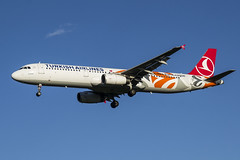 TC-JRO Turkish Airlines Airbus A321-231 (Nathan_Ivanov) Tags: airplane aircraft vko vnukovo uuww spotting airbus tcjro airbusa321