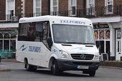 LK13CYT  Telfords, Newcatleton (highlandreiver) Tags: lk13cyt lk13 cyt telfords coaches newcastleton mercedes benz bus coach carlisle cumbria