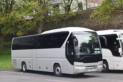 4TXF  Stuarts, Carluke (highlandreiver) Tags: 4txf 4 txf stuarts coaches carluke neoplan tourliner bus coach carlisle cumbria