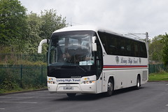 J10LHT  (PN13TGK)  Living High Travel, Dunfermline (highlandreiver) Tags: j10lht j10 lht pn13tgk pn13 tgk living high travel dunfermline fife neoplan tourliner bus coach coaches carlisle cumbria
