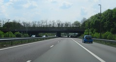 ecoduct Terlet - dode bomen (European Roads) Tags: a1 a50 ecoduct terlet drip vms