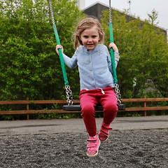 Amanda on the swing (erlingurt) Tags: kid canon eos rp swing