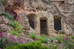 Sandstone Cave Dwelling, Nottingham (Geraldine Curtis) Tags: sandstonecavedwelling nottingham