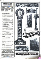 Greenwood Advertising Company (jericl cat) Tags: may 1914 greenwood advertising company night lighting billboard losangeles broadway electrical merchandise magazine ad advert illumination spectacular signage seipps pale ale beer light power klein thos cusack