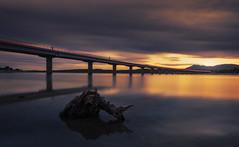 Cae la noche en Valmayor (Chusmaki) Tags: embalse valmayor ngc noche luz sony a7rii madrid