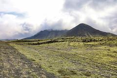 Clouds passing over the hills (erlingurt) Tags: iceland moss mist rp eos canon landscape cloud