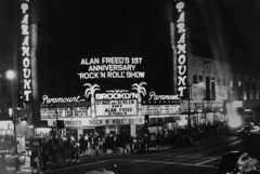 Wiltern Theatre (jericl cat) Tags: refaced brooklyn paramount theatre americanhotwax movie wilshire neon night losangeles corner western boulevard sign alan freed 1978