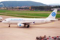 Transaer Airbus A320-231; EI-TLE@ZRH;11.10.1997 (Aero Icarus) Tags: zrh lszh zürichkloten zürichflughafen zurichairport plane aircraft flugzeug