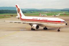 Egypt Air Airbus A300-622R; SU-GAS@ZRH;11.10.1997 (Aero Icarus) Tags: zrh lszh zürichkloten zürichflughafen zurichairport plane aircraft flugzeug egyptair airbusa300 sugas