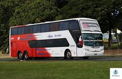 Abreu Turística - 4000 (RV Photos) Tags: turismo bus onibus doubledecker br116 rodoviapresidentedutra abreuturística busscar panorâmicodd