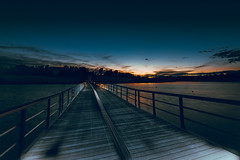 coming back again (jcc90) Tags: nikon d610 spain night caceres valdecañas beginner processed edited colors sunset mar líneas