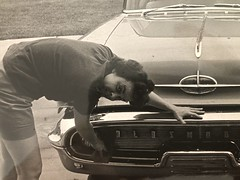 Washing the Chevy 3 (Vegan Feast Catering) Tags: family memories