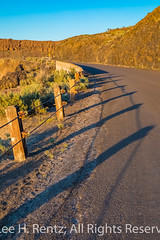 Guardrail along Historic U.S. Route 10 in Frenchman Coulee, Washington (Lee Rentz) Tags: columbiaplateau columbiariver frenchmancoulee frenchmanscoulee highway10 historic10 historicus10 iceagefloodsnationalgeologictrail miocene oldvantagehighway pacificnorthwest us10 usroute10 vantage washington washingtonstate america americanwest basalt cablebarrier cliffs coulee curving dryside easternwashington geologic gorge guardrails guardrail highway historic history iceage landscape lateafternoon lavaflow lonely northamerica northwest remote road rockclimbing rocks route sagebrushsteppe steelwire usa vertical vintage wire