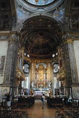 Basilica di Santa Maria della Steccata (Elizabeth Almlie) Tags: italy emiliaromagna basilicadisantamariadellasteccata basilica church interior sanctuary altar