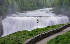 Middle Falls Letchworth State Park, (Gene Mordaunt) Tags: waterfall geneseeriver newyork letchworthstatepark nikon810 river landscape