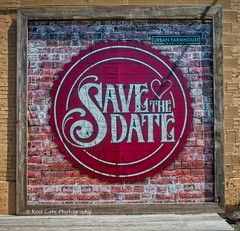 Save the Date (Kool Cats Photography over 12 Million Views) Tags: abstract advertisement architecture art artistic background blue canvas detail design image illustration painted painterly photography photo ricohgrii ricohimagingcompany rustic sign streetphotography style textured door