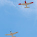 Airplane flyover