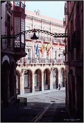 Portugalete_Town Hall_Leica M4 (ksadjina) Tags: 24x36 basque bilbao c41 easter kodakektar100 leicam4 leitzelmar50mm128 nikonsupercoolscan9000ed portugalete silverfast spain townhall analog color film