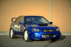 _MG_5803 (Grumbaw) Tags: subaru wrx sti 2004 worldrallyblue rally autocross racecar lethbridge alberta canada fast turbo modified