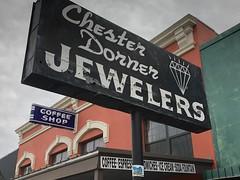 San Angelo, Texas (jericl cat) Tags: sanangelo texas chester dorner jewelers store shop jeweler coffee neon sign porcelain enamel