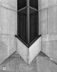 The corner (jefvandenhoute) Tags: belgium belgië antwerp antwerpen monochrome light lines shapes geometric