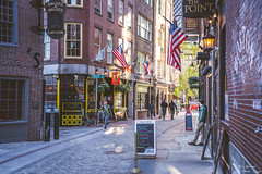 Boston Streets (yarnim) Tags: boston massachusetts alley street streetphotography greendragontavern sony a7 a7iii a7m3 ilce7m3 sel24105g zoom bricks building