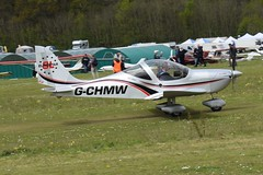 G-CHMW Evektor EV-97 Eurostar (graham19492000) Tags: pophamairfield gchmw evektor ev97 eurostar