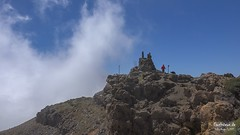 Wanderlust (Stefan Beckhusen) Tags: mountain sky clouds hiking wanderlust lapalma spain europe landscape travel tourism holidays mountainpeak roguedelosmuchachos color sunny day explore discovery