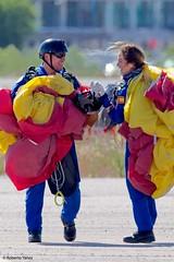 Getafe Airshow 2019 (Ejército del Aire Ministerio de Defensa España) Tags: aviación aviation militar military getafe baseaérea airbase airforce fuerzaaérea españa madrid ejércitodelaire avión aeronaves aviadora paracaidistas parachute skydiver