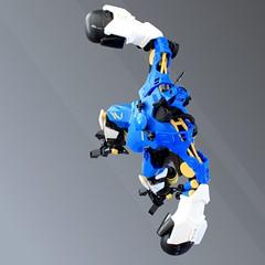 B-07 Melee Mech - RoboRumble 3000 (Oscar Cederwall (o0ger)) Tags: lego moc mech robot roborumble 3000 djokemsokem mechmonday