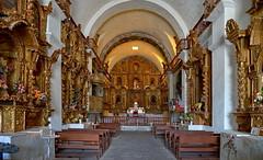 A richly decorated interior (Chemose) Tags: sony ilce7m2 alpha7ii avril april pérou peru hdr maca église church altar autel baroque