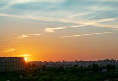 Good morning (bolex.ua) Tags: morning sun may spring sunrise sky clouds shadow light sunny weather circle happy yellow beautiful photography nikon nikonphotography nikkor nikkor1855 city kyiv ukraine cityscape рассвет утро небо