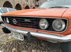 Opel Manta (Giulio Pedrana - La Tenaglia Impazzita) Tags: opelfans opel vintagecars raduniautostoriche mantova