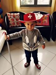 alessandro moschettiere (me, paolo and the seven wonders + two&little3) Tags: carnevale festa compleanno maschera 2anni nipotino capolavoro picmonkey