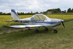 G-LBAC Evektor EV-97 Eurostar (graham19492000) Tags: pophamairfield glbac evektor ev97 eurostar
