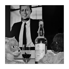 John F. Kennedy - Macallan - ... and friends (xockisfriends) Tags: xochipilli xocki wootanhippovanrheen wooti pochi blackpanther hippopotamus hippo snowleopard johnfkennedy jfk macallan whisky schlabbern schlabbernschlabbern 1983 dram scotchwhisky scotch enlightenment masteroftheartoffinepooping finespirits 24122015 christmas weihnachten president usa