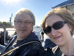 On a boat!