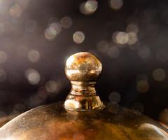 Copper knob. HMM! (Uup115) Tags: bokeh copper macro knob hmm canon macromondays canonpowershotgx5 closeup
